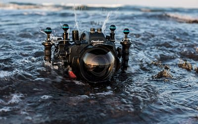 What gear do you use to shoot in the water?