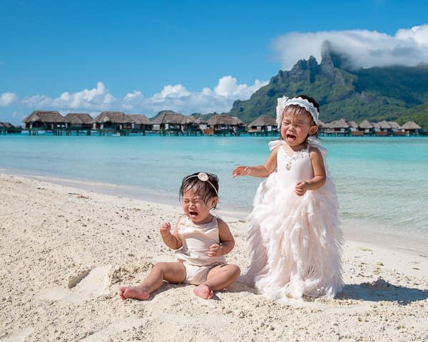 Family & Children Photographer Bora Bora